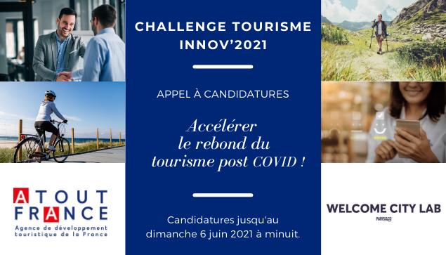 CHALLENGE TOURISME INNOV'2021
